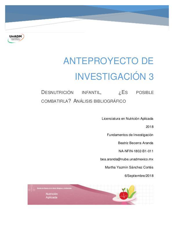 Mi primera revista. Anteproyecto de Investigación. FIN_U5_EA_BEBA_anteproyectodeinvestigacion4