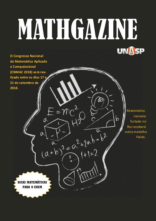 My first Magazine trab matemat