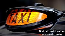 What to Expect from Taxi Insurance in London
