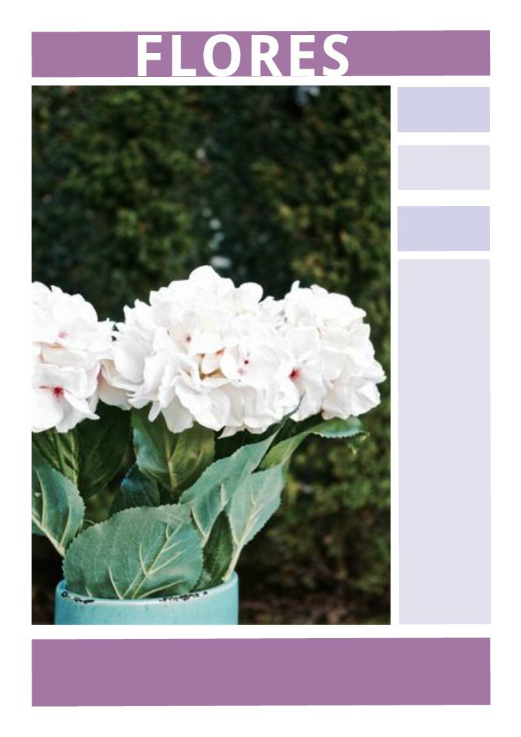 CATALOGO FLORES Flores artificiales