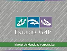 Manual de identidad corporativa - Estudio GAV