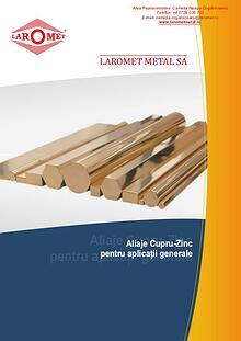 Bare din Cupru, Bare cupru electrotehnic Laromet Metal SA