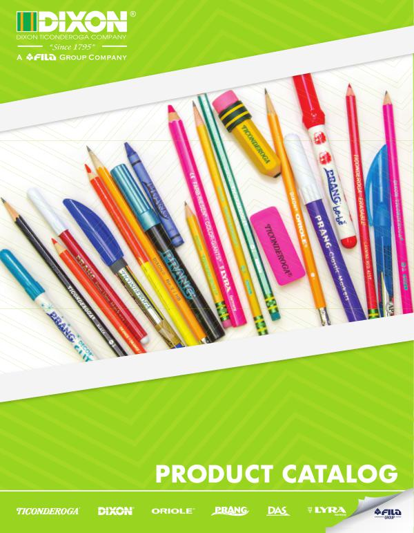2018-2019 Dixon Ticonderoga Catalog 2018-2019 Dixon Ticonderoga Education Catalog