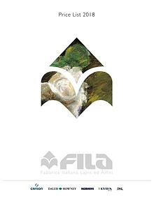 2018 Fila Fine Art Catalog