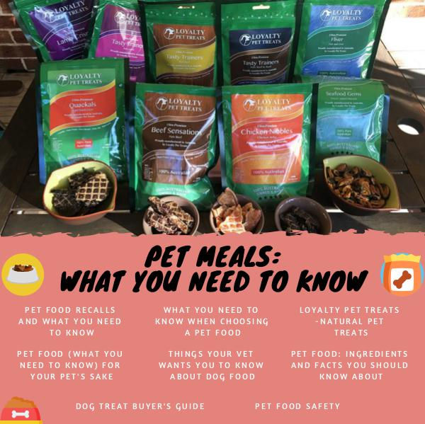 Pet Meals Pet Meals - What you need to know