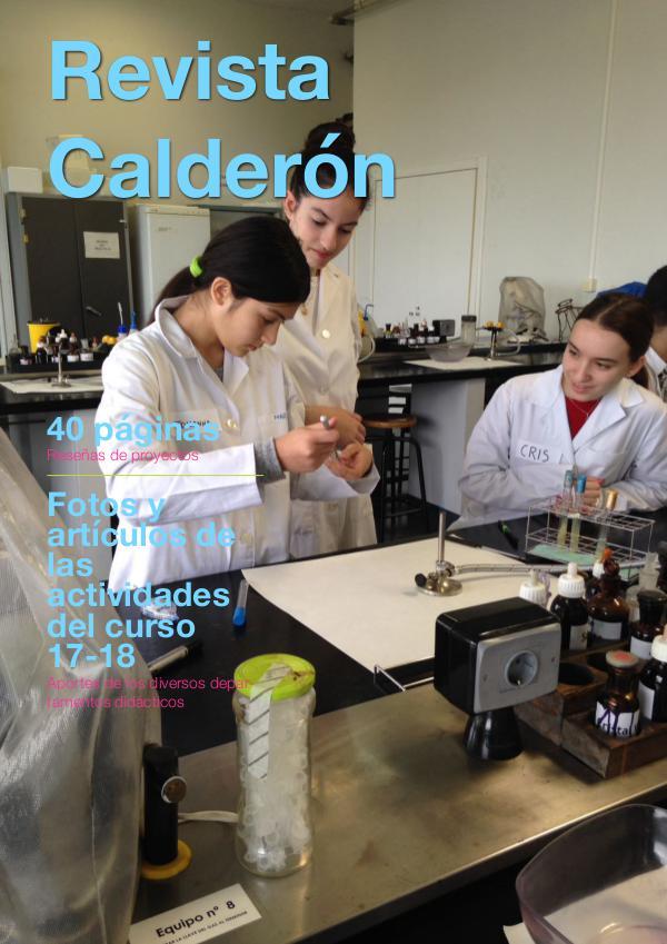Revista Calderón Revista 2017-18