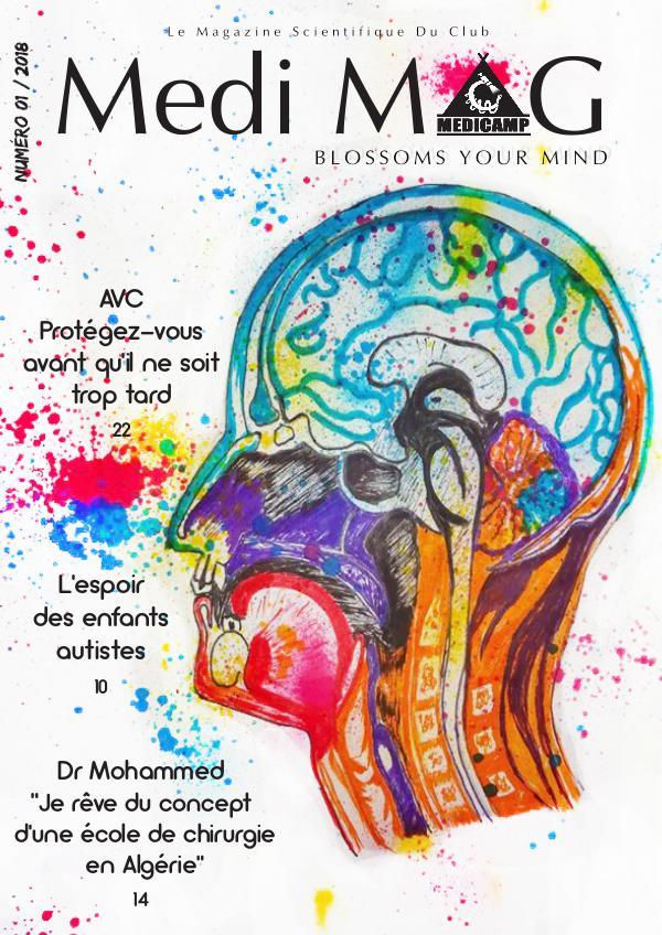 Magazine du club MediCamp MediMag N°01