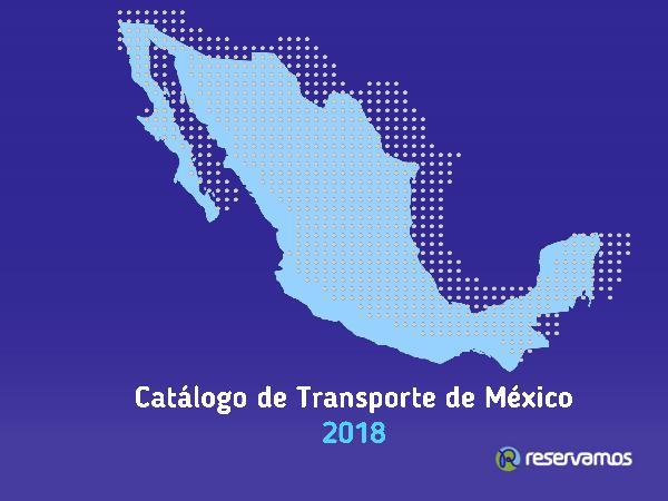 Catálogo de Transporte de México 2018 Norte del País Catálogo de Transporte Norte del País SE
