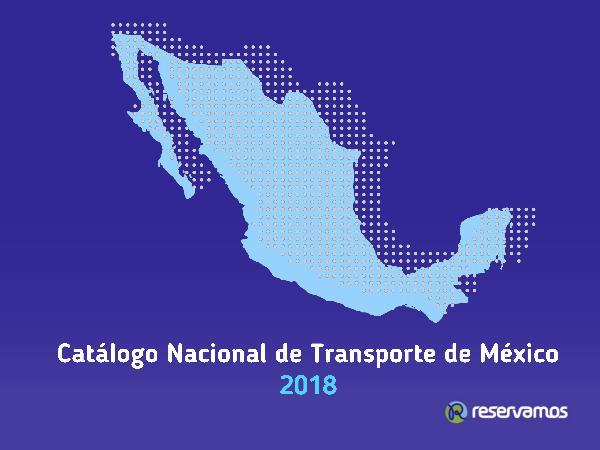 Catálogo de Transporte de México 2018 Norte del País Catálogo de Transporte Norte del País