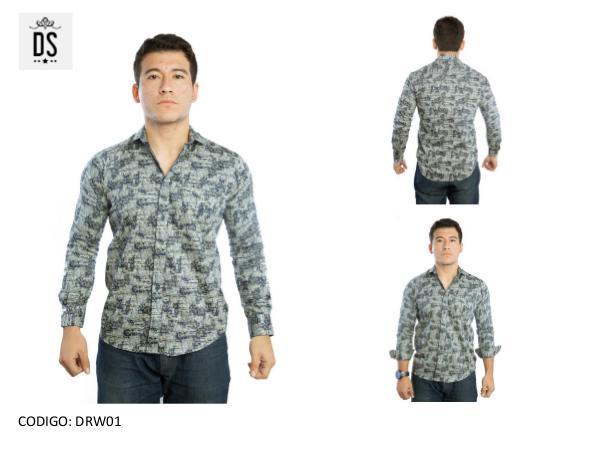 Camisa Slim para Hombre CATALOGO DARWIS 2018