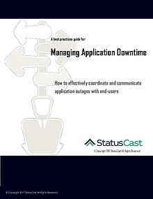 Best Practices for Managing Application Downtime