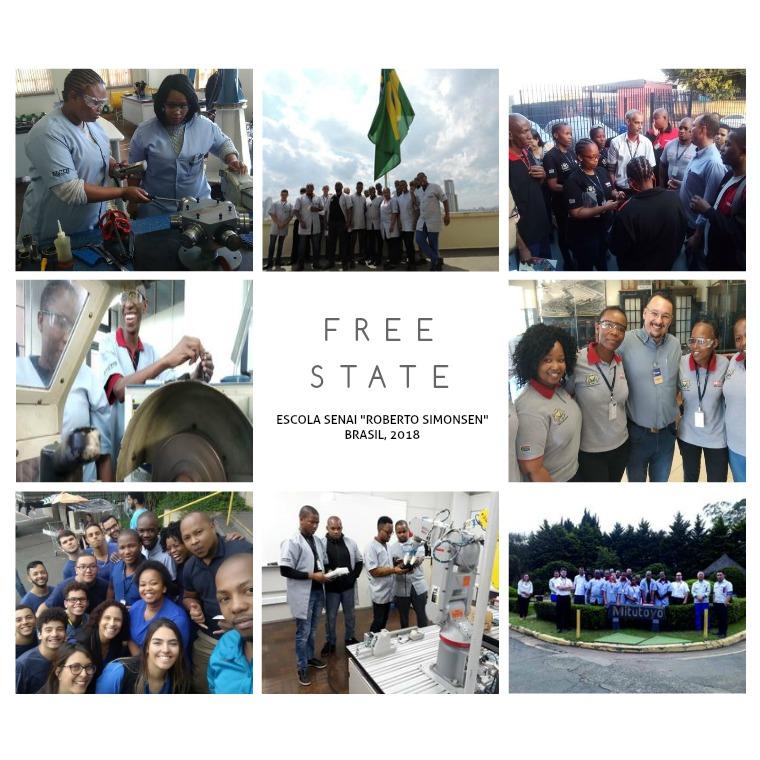 Álbum de fotografia Free State Álbum de fotografia Programa Free State