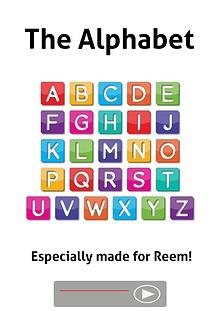 The Alphabet for Reem