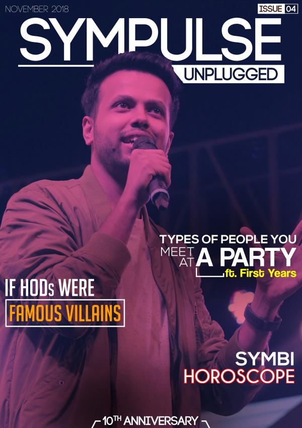 Sympulse Unplugged November Edition SU4