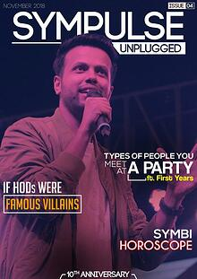 Sympulse Unplugged November Edition