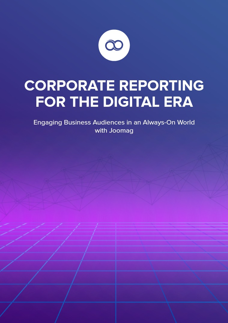 Joomag White Paper: Corporate Reporting for the Digital Era