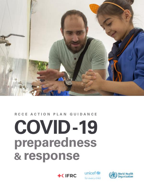 Coronavirus disease (COVID-19) technical guidance by WHO RCCE action plan: COVID-19 preparedness