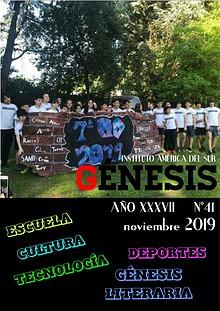 Génesis 2018 | Periódico Escolar del Instituto América del Sur
