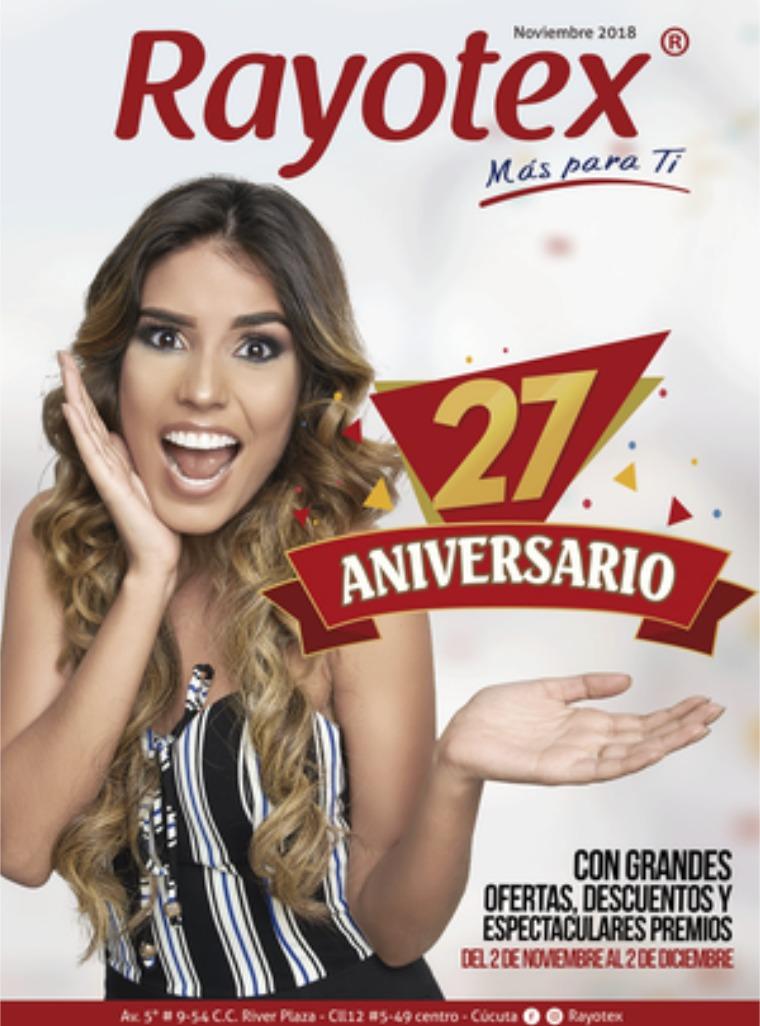 revista rayotex 2018 aniversario