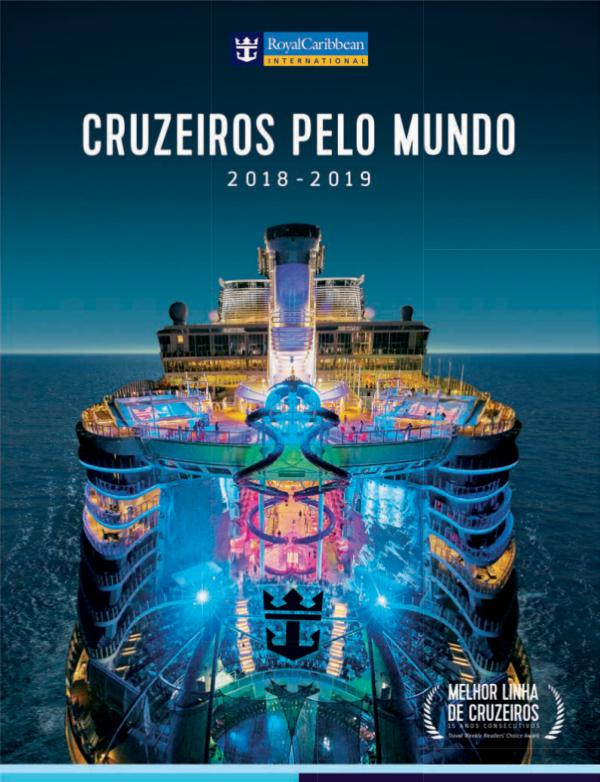 Brochura Royal Caribbean 2018 - 2019 Catálogo Royal Caribbean 2018 2019