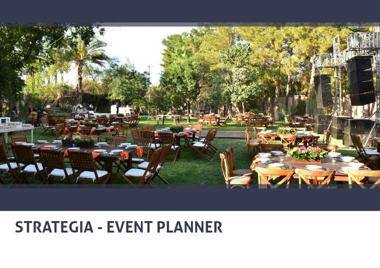 Strategia Event Planner Strategia - Event Planner