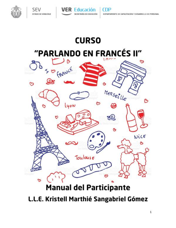 Mi primera revista Manual Parlando en Francés II