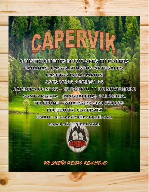 catalogo digital CAPERVIK TURISMO