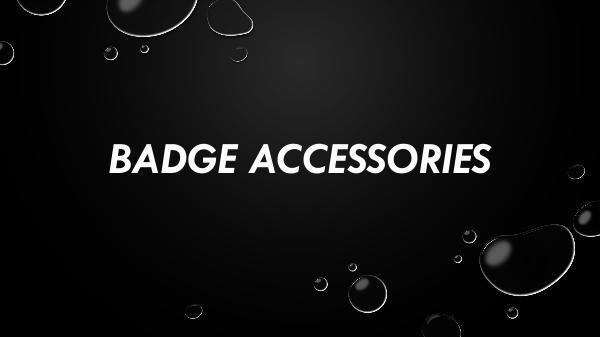 Badge Accessories Badge Accessories