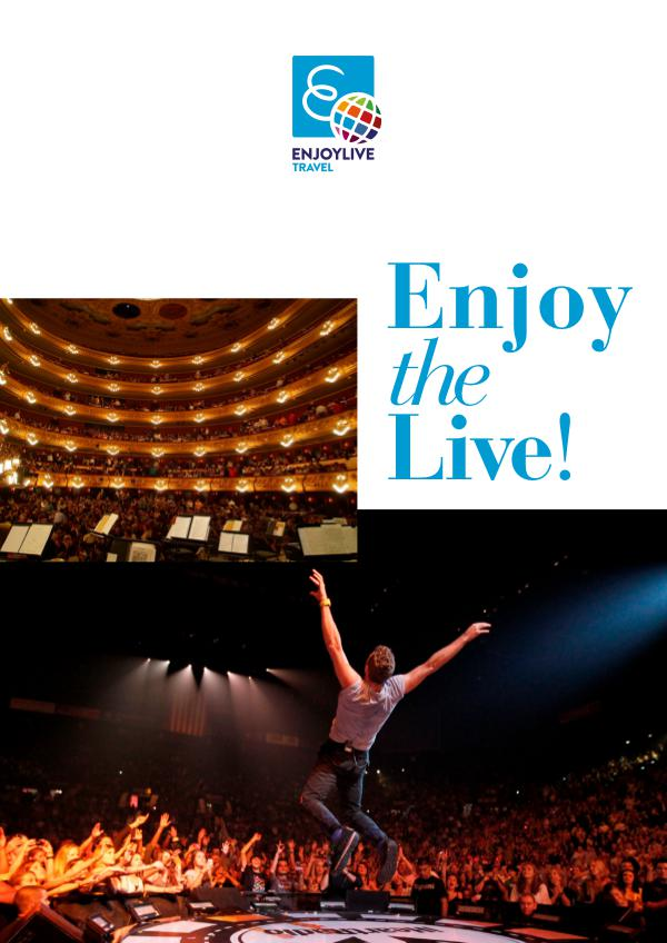 Enjoylive Travel Catalogues Enjoy the Live!
