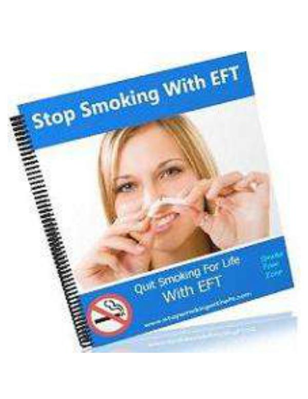 When I Can't to Quit Smoking PDF, The Best Tips to Do All of Plan Joe Williams STOP Smoking With EFT Program