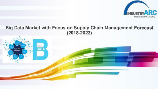 Big Data Market with Focus on Supply Chain Management Big Data Market with Focus on Supply Chain Managem