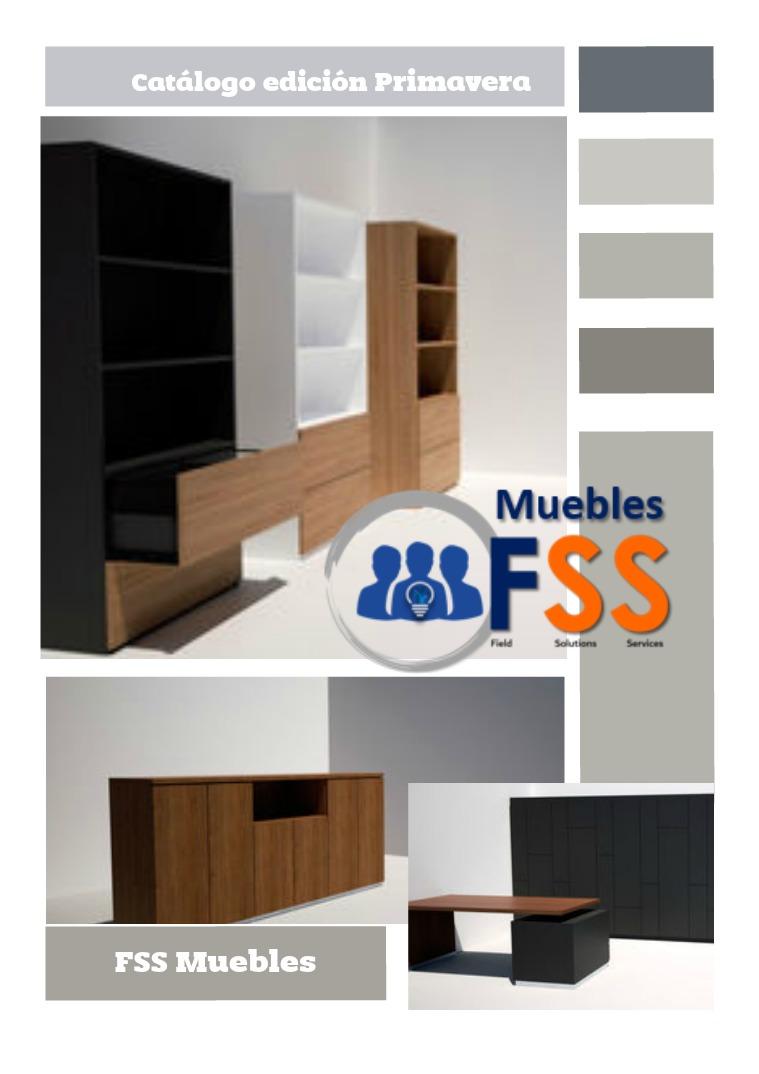 Catalogo Muebles FSS Catalogo Muebles Fss