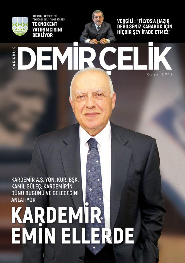 Demir Çelik Dergisi pdf