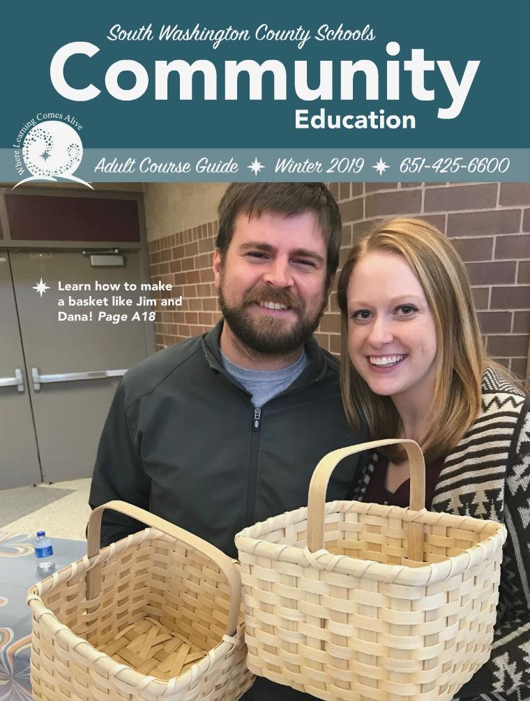 Adult Enrichment Winter Catalog - South Washington County Schools CE JOOMAG_ADULT