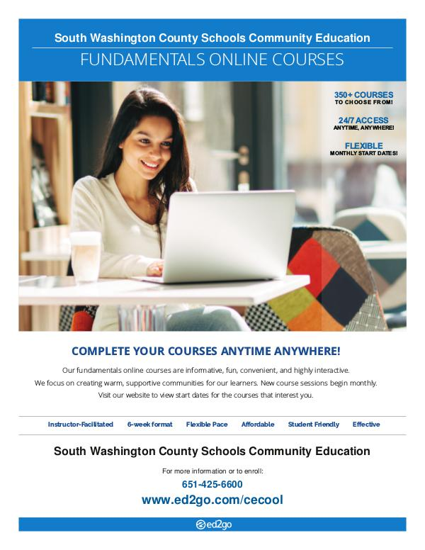 Online Learning - Course Catalog Ed2Go Online Learning - Courses