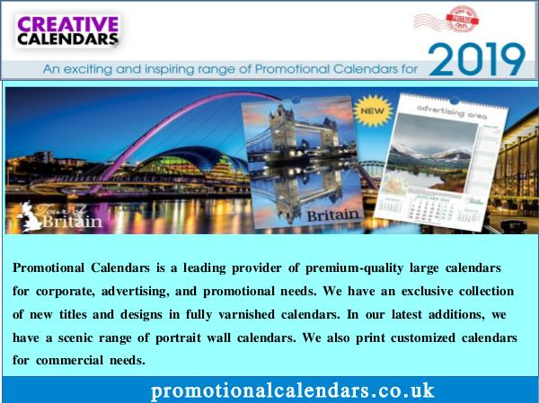 Promotional Calendars Business Calendars