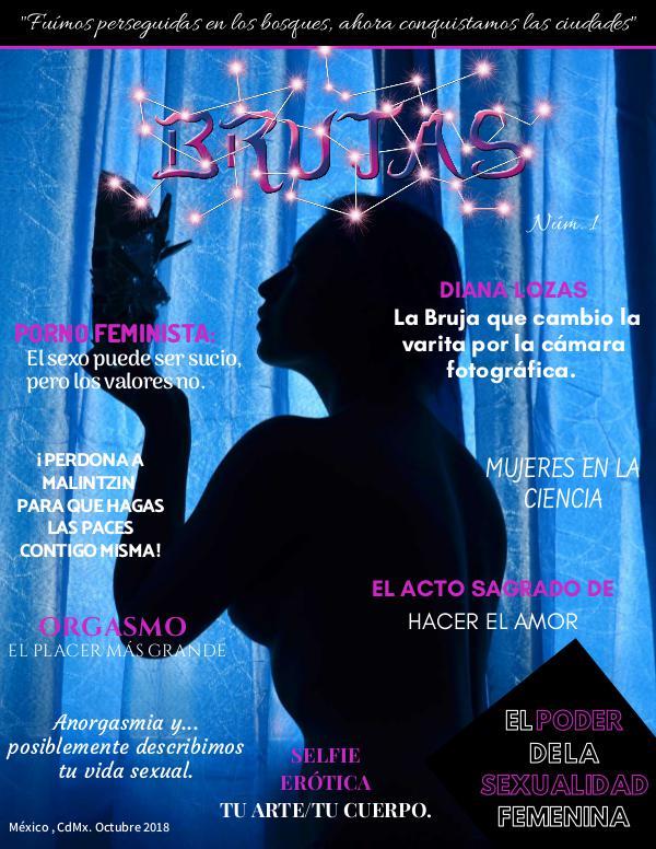 Mi primera revista Revista Brujas El poder de la sexualidad Femenina