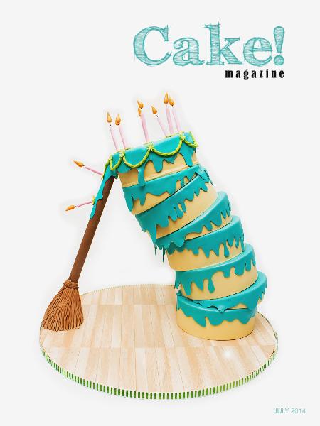 Cake! magazine by Australian Cake Decorating Network August 2014