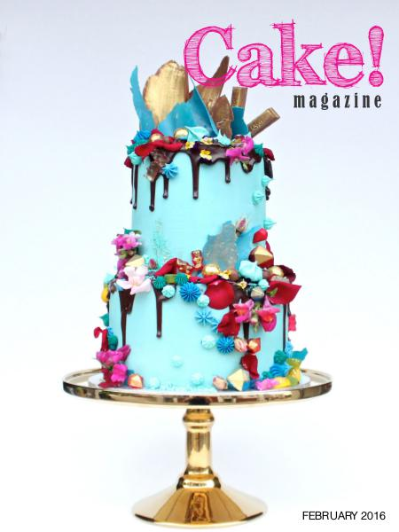 Cake! magazine by Australian Cake Decorating Network February 2016