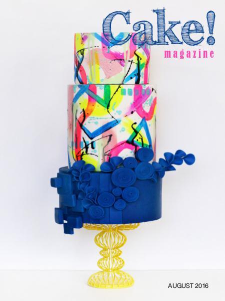 Cake! magazine by Australian Cake Decorating Network August 2016