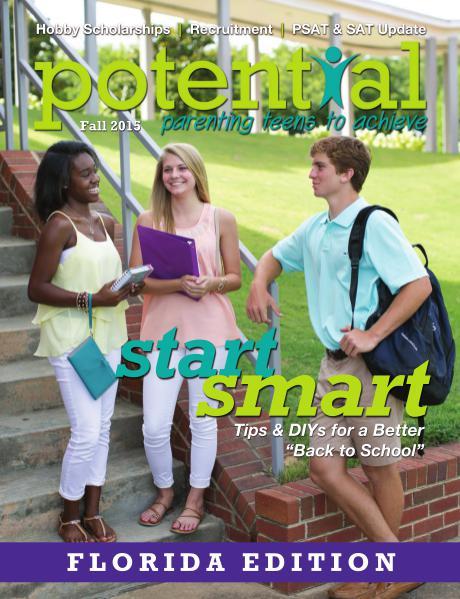 Potential Magazine Fall 2015 - Florida Edition