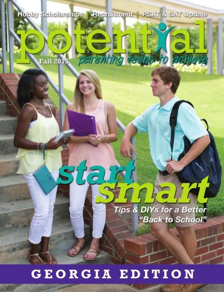 Potential Magazine Fall 2015 - Georgia Edition