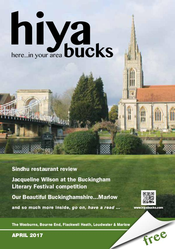 hiya bucks in Bourne End, Flackwell Heath, Marlow, Wycombe, Wooburn April 2017