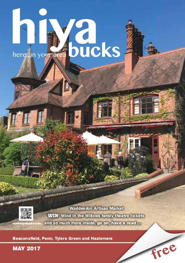 hiya bucks Amersham, Beaconsfield, Chesham, Gerrards Cross, Missenden May 2017