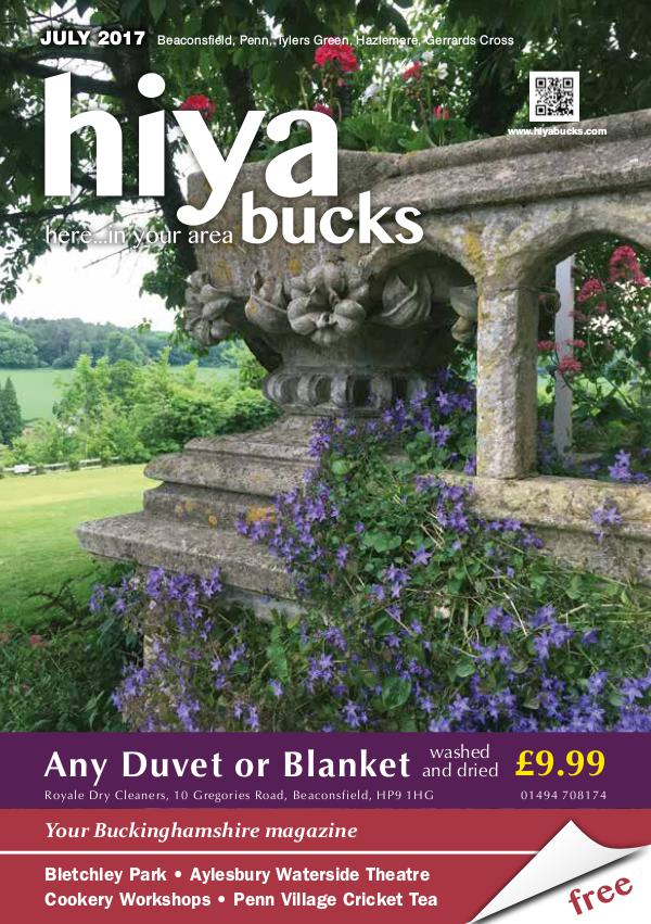 hiya bucks Amersham, Beaconsfield, Chesham, Gerrards Cross, Missenden July 2017
