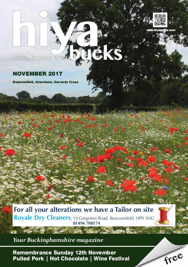 hiya bucks Amersham, Beaconsfield, Chesham, Gerrards Cross, Missenden November 2017