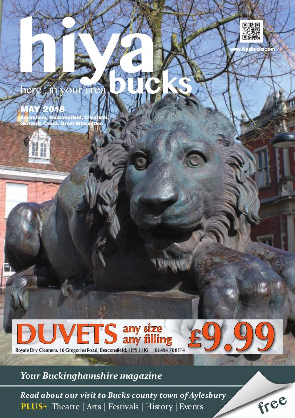 hiya bucks Amersham, Beaconsfield, Chesham, Gerrards Cross, Missenden May 2018