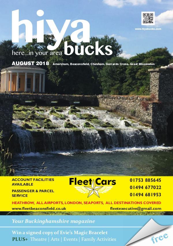 hiya bucks Amersham, Beaconsfield, Chesham, Gerrards Cross, Missenden August 2018