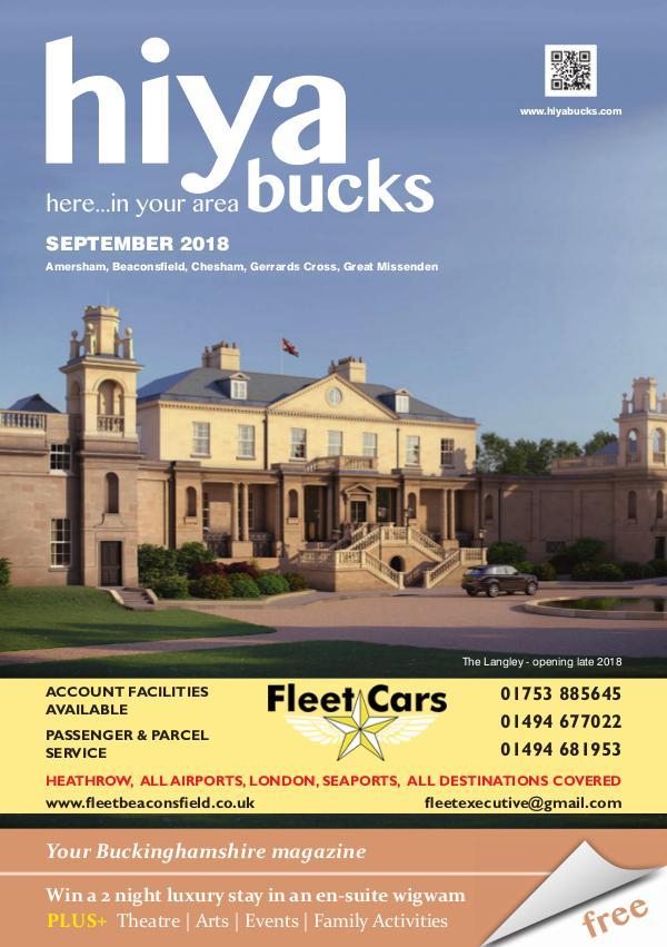 hiya bucks Amersham, Beaconsfield, Chesham, Gerrards Cross, Missenden September 2018