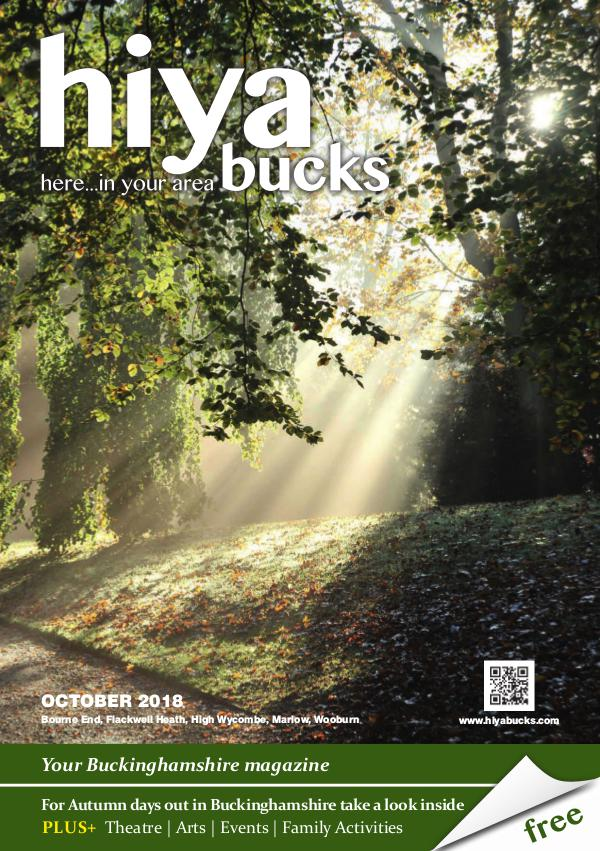 hiya bucks in Bourne End, Flackwell Heath, Marlow, Wycombe, Wooburn October 2018